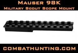 Mauser 98K Scout Military Sniper Scope Mount