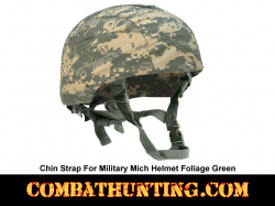 Chin Strap For Mich Helmet Foliage Green