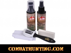 Kiwi Military Desert - Boot Care Kit