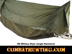 Jungle Hammock Military Style Olive Drab