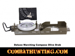 Deluxe Marching Compass - Olive Drab