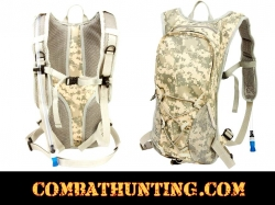 Digital Camo Military Style Hydration Pack