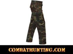 Woodland Camo BDU Pants