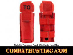 RED Molle Tourniquet Pouch Holder