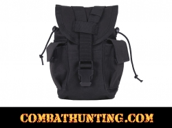 Black MOLLE II Canteen / Utility Pouch