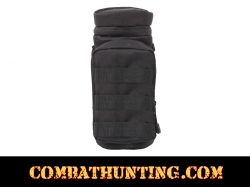 Molle Water Bottle Pouch Black