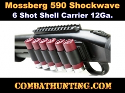 Mossberg 590 Shockwave Side Saddle Shell Holder
