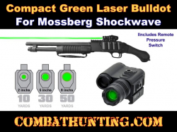 Mossberg Shockwave Green Laser Sight