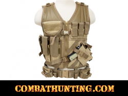 Ncstar Military Tan Tactical Vest 2X