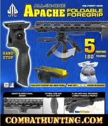 UTG All In One Apache Foregrip Multi Angle Grip
