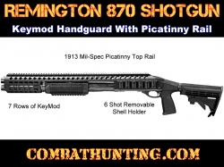 Remington 870 Tactical Rail System Keymod