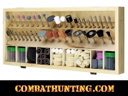 228 Pc Rotary Tool Accessories Kit With Wooden Case