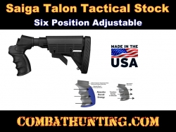 Saiga Stock With Pistol Grip Six Position Adjustable