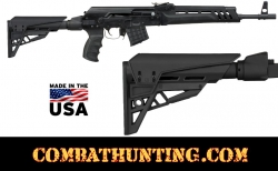 Saiga Stock & Grip Strikeforce Elite Six Position TactLite Stock