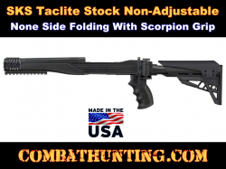 SKS Strikeforce Stock Non-Adjustable Non-side Folding