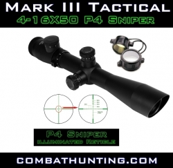 NcStar New Mark Scope 4-16x50 G-Ill P4 Sniper 30mm