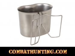 G.I. Style Stainless Steel Canteen Cup