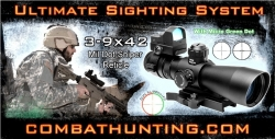 Ncstar 3-9x42 Mil-Dot Sniper AR-15 Rifle Scope Sighting System
