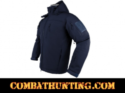 Alpha Trekker Tactical Jacket Navy Blue
