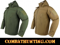Delta Zulu Tactical Jacket With Hood 5 Colors, 7 Sizes