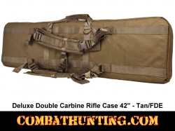Double Carbine Rifle Case 42 Inches Tan/FDE