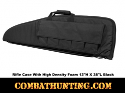 Black Tactical Rifle Gun Case 38""