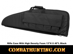 Black Tactical Rifle Gun Case 40x13-Inches