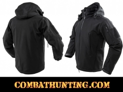 Delta Zulu Jacket With Hood-Black