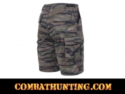 Tiger Stripe Camo BDU Military Shorts