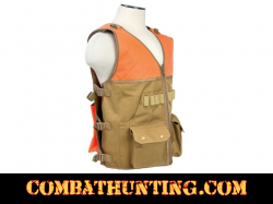 Upland Hunter's Field Vest With Game Bag