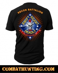 0cf60e416 US Marines 1st Recon BN Marines T-Shirt - USMC Shirt