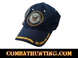 Military U.S. Navy Logo Baseball Cap