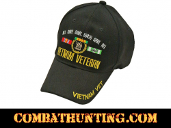 Vietnam Veteran Hat-Cap With Embroidery