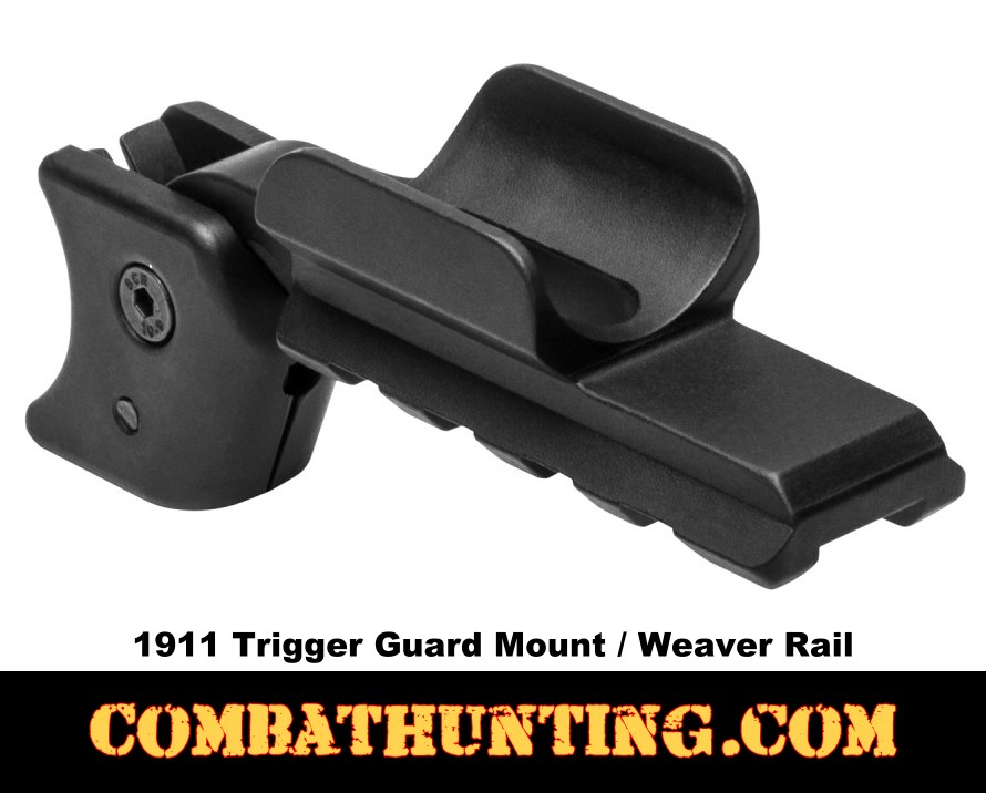 Ncstar 1911 Trigger Guard Mount/ Weaver Rail Mount style=