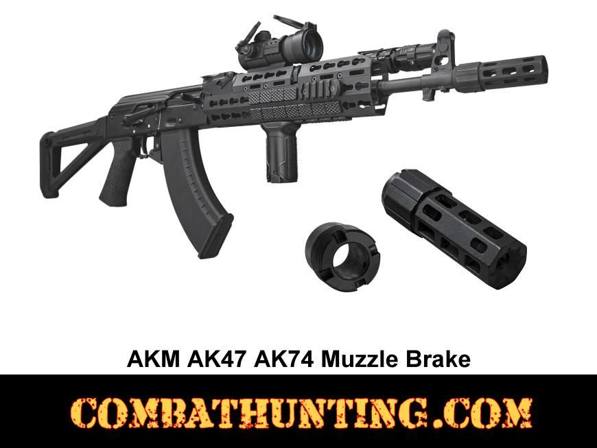 Muzzle Brake For AKM AK47 AK74 Rifle