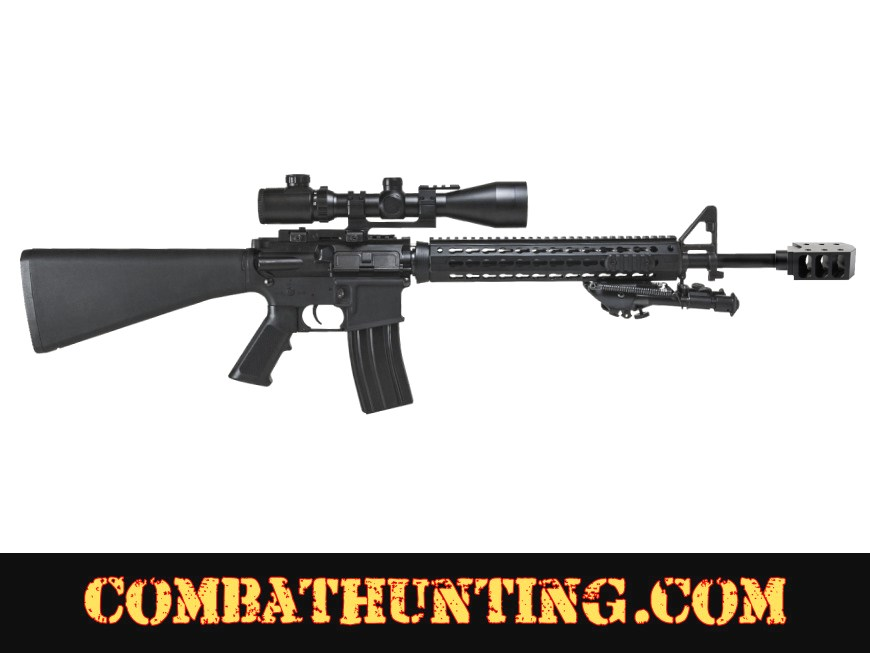 AR-10 .308 Muzzle Brake Compensator 50 Cal Style style=