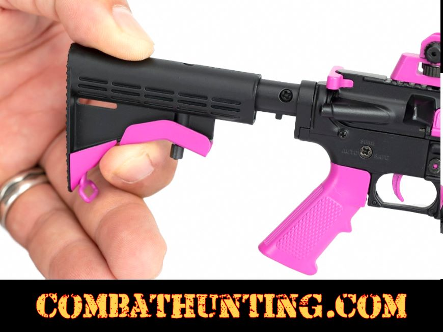 Pink AR-15 RW Minis Replica 1/3 Scale Non-Firing Model style=