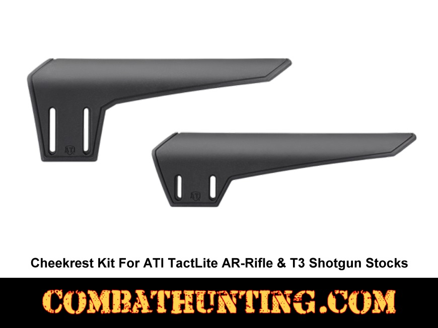 ATI TactLite Stock Cheekrest Kit Black style=