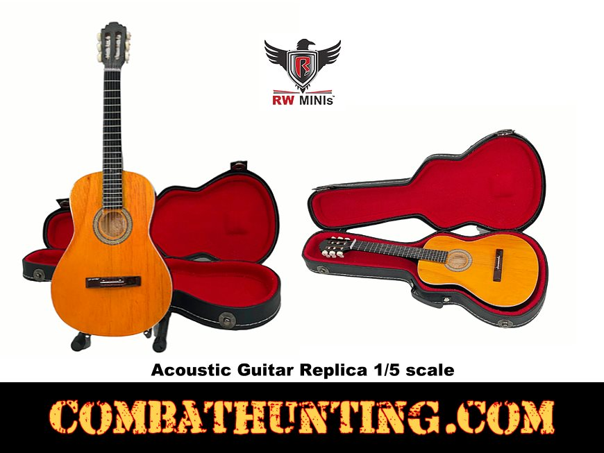 Acoustic Guitar Replica 1/5 scale RW Minis style=