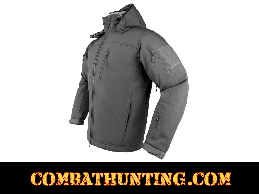 Alpha Trekker Tactical Jacket Urban Gray style=