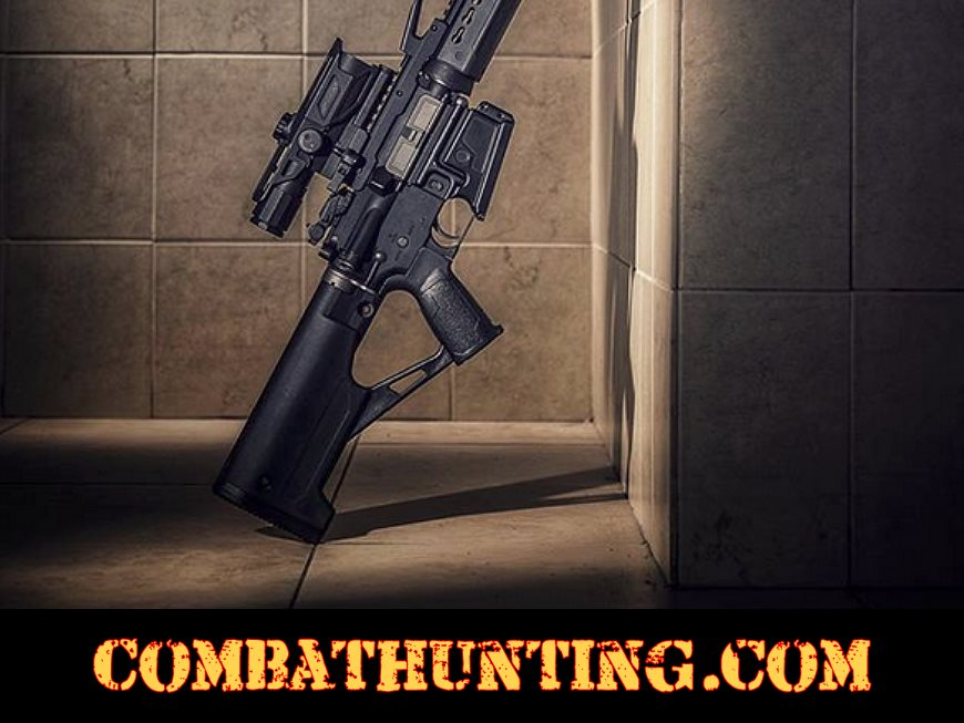 AR15 Thumbhole Stock Fixed For Mil-Spec Rifles style=