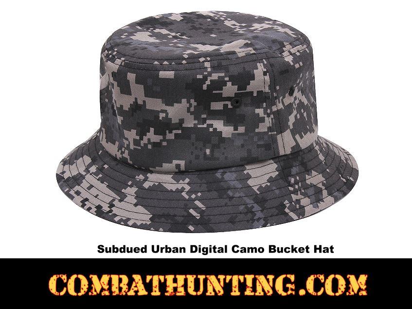 55503 Subdued Urban Digital Camo Bucket Hat - Boonie Hats a4b2ce71868