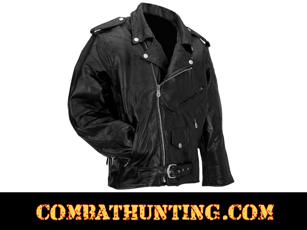 Mens Leather Motorcycle Jackets style=