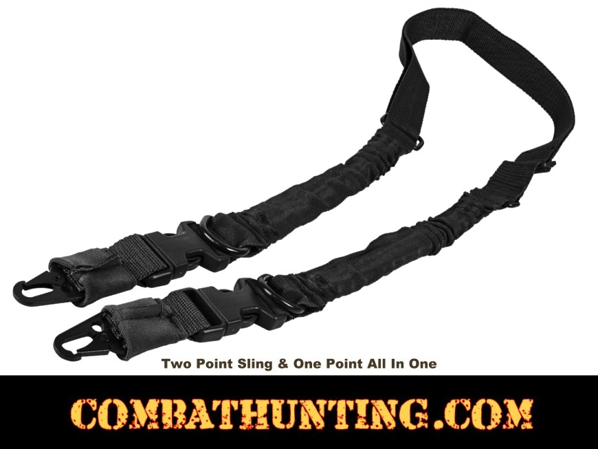 Two Point Sling QD Black style=