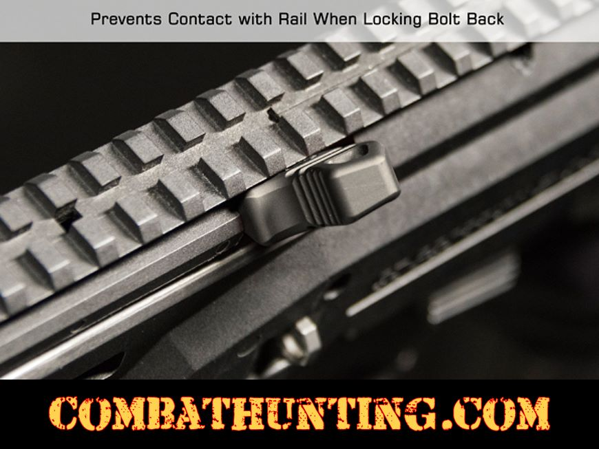 CZ Scorpion Evo 3 Charging Handle Black Anodized style=
