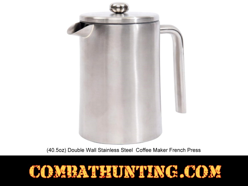 French Press Coffee Maker For Camping : 1.2L Camping Coffee Maker French Press - Camping Gear Supplies
