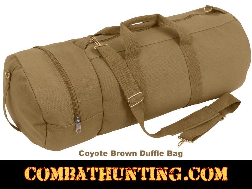 9e0fd8e7ed4 CB2397 Coyote Brown Duffle Bag - Military Gear Bags