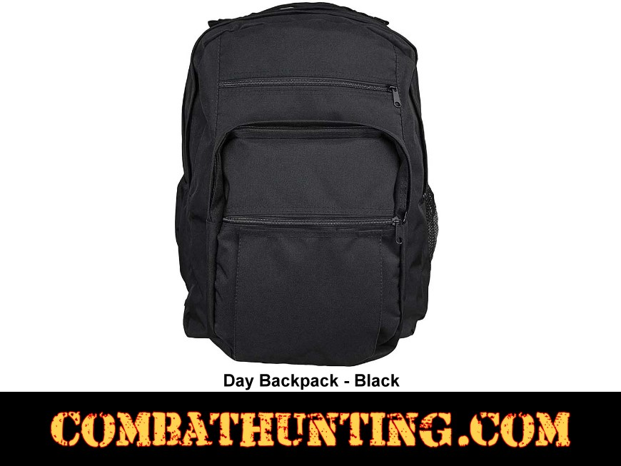 Day Backpack Black style=