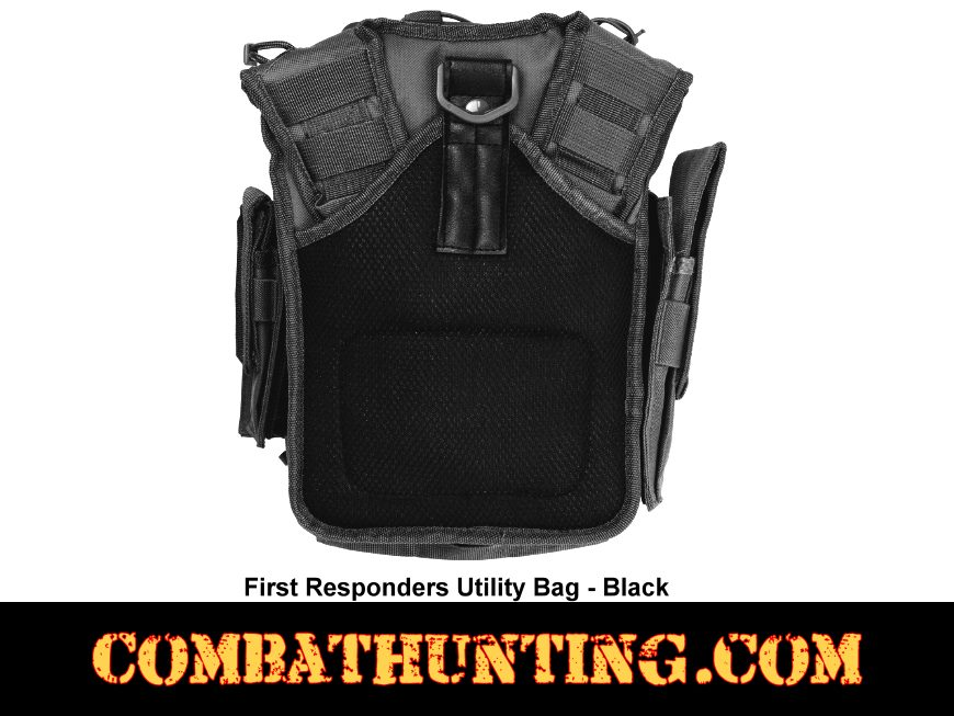 First Responder Tactical Utility Bag Black style=