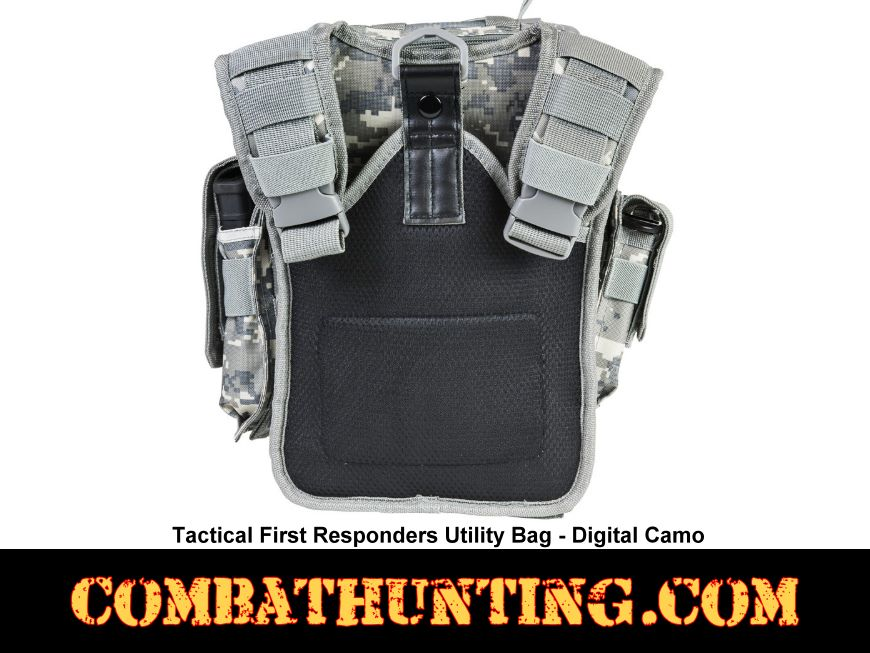 Digital Camo First Responders Utility Bag style=